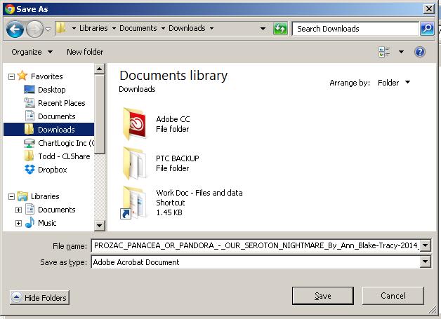 ebook download save location