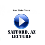 Ann Tracy lecture in AZ-Stream